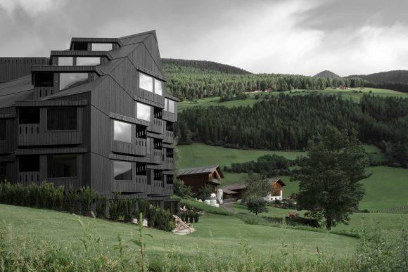 Проект Бюхельвирт (Buhelwirt) в Италии от Pedevilla Architects.