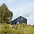 Дом в Кашубии (Dom na Kaszubach) в Польше от Grzegorz Layer Architekt.