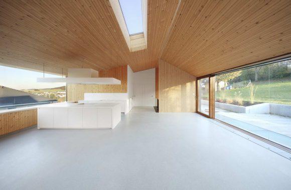 Энергосберегающий дом (Energiehaus Farschweiler) в Германии от Architekten Stein Hemmes Wirtz.