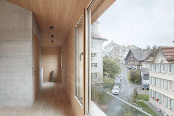 Переосмысление шале в Швейцарии