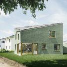 Дом Д (Haus D) в Германии от Miriam Poch Architektin и Project Architecture Company.