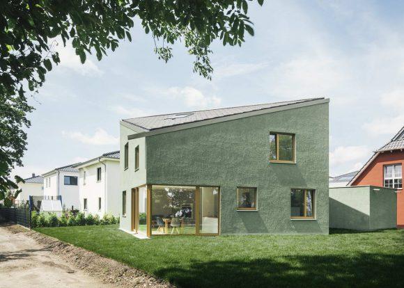 Зелёный дом в Германии