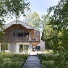 Дом К (House K) в Германии от Stephan Maria Lang.