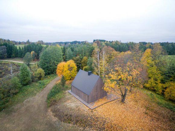 Традиционный дом в Литве