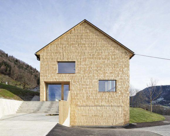 Дом из амбара в Австрии