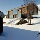 Бревенчатый дом (Log House) в Норвегии от JVA.