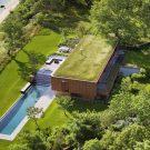 Дом у залива Пеконик (Peconic House) в США от MAPOS.