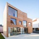 Деревянный дом SCL (SCL — Holzmassivhaus) в Германии от MIND Architects Collective.