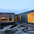 Домик навыворот (Summerhouse Inside Out) в Норвегии от Reiulf Ramstad Arkitekter.