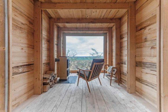 Деревянный домик в Чехии
