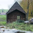 Лесной домик (Woodland Cabin) в Бельгии от De Rosee Sa Architects.