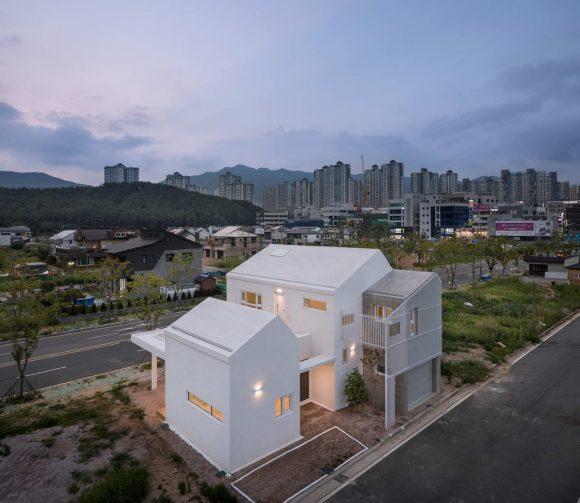 Растущий дом в Южной Корее