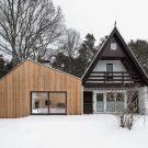 Старый новый дом (Altneuhaus) в Германии от Roland Unterbusch Architekt.