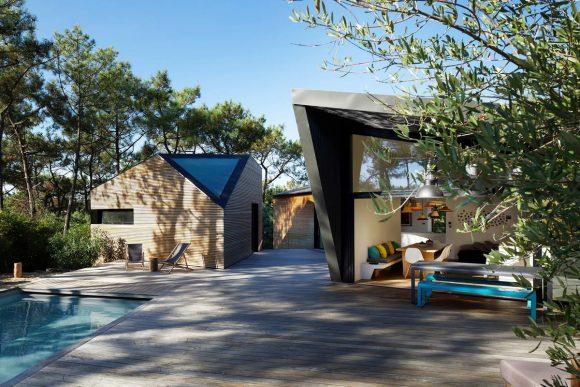 Лесной дом во Франции