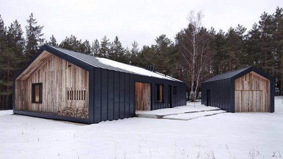 Загородный дом в Латвии