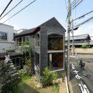 Грибной дом (Mushroom House) в Японии от SPACESPACE.