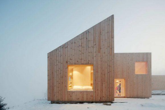 Деревянный дом в Норвегии