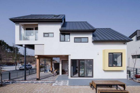 Ступенчатый дом в Южной Корее