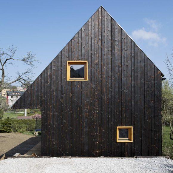 Деревянный дом в Чехии