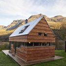 Домик Лаксватн (Cabin Laksvatn) в Норвегии от Hamran/Johansen Arkitekter.