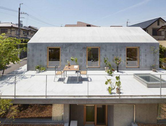 Дом с террасой в Японии