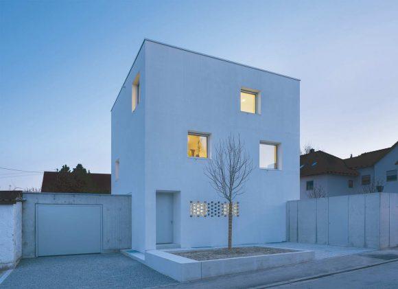 Дом-куб в Германии