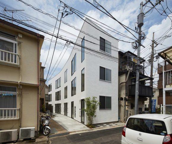 Дом на 6 квартир в Японии
