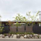Замковый дом (House Jodai) в Японии от Kenta Eto atelier.