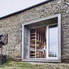 Загородный дом (Maison de campagne) во Франции от Minnaert Studio.