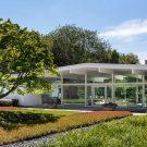 Новая Ханаанская Резиденция (New Canaan Residence) в США от Joel Sanders Architect.