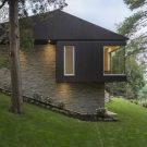 Тонкий дом в Канаде от MU Architecture.