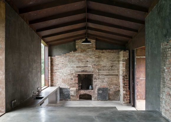 Два павильона (Two Pavilions) в Англии от Carmody Groarke.