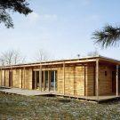 Деревянный дом (Wooden House) в Чехии от Olgoj Chorchoj studio.