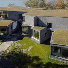 Сморщенная плоскостная вилла (Wrinkled Planar Villa) в США от Steven Holl Architects.