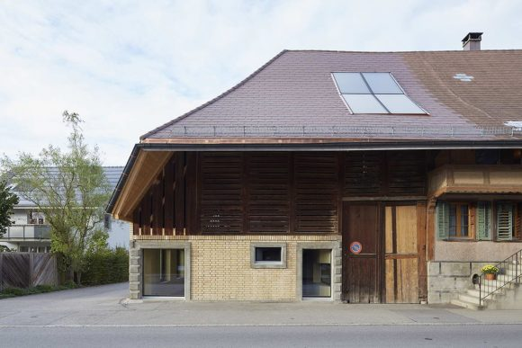Дом на сеновале в Швейцарии