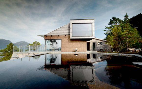 Дачный дом в Норвегии
