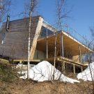 Домик в Молсэльве в Норвегии от Stinessen Arkitektur.