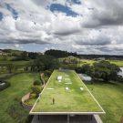 Плоский дом в Бразилии от Lair Reis и Studio MK27.