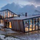 Домик во фьордах (Efjord Cabin) в Норвегии от Stinessen Arkitektur.