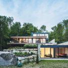 Эстрадная резиденция в Канаде от MU Architecture.