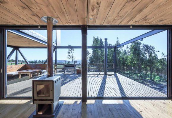 Стеклянный дом в Чили