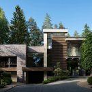 Резиденция S93 (House S93) в России от Portner Architects.