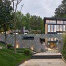 Сосновый дом в Китае от Института ландшафта и архитектуры китайской академии искусств.