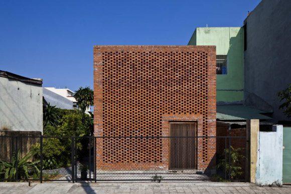 Кирпичный дом во Вьетнаме