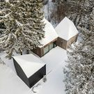 Коттедж в Мурасте в Эстонии от KUU Architects.