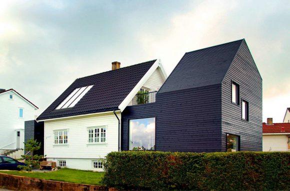 Расширение дома в Норвегии