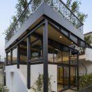 Крыша-зонтик с садом в Индии от Harsh Vardhan Jain Architect.