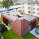 Дом H в Бельгии от dmvA architecten.