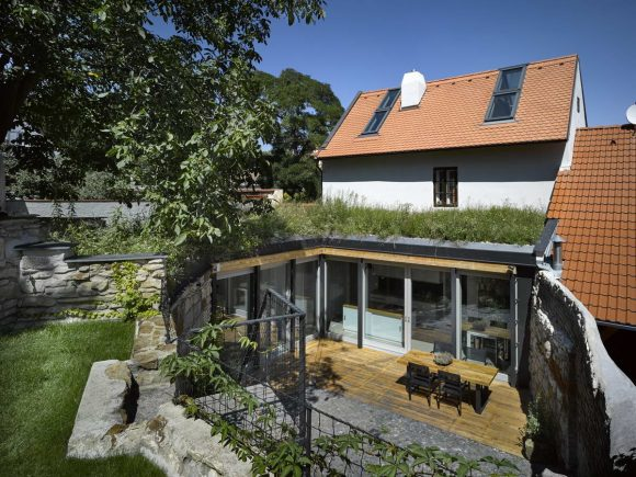 Реконструкция дома в Чехии