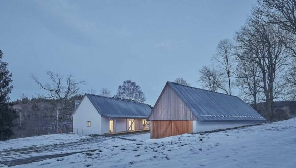 Фермерский дом в Чехии